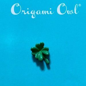 Origami Owl Clover Leaf Charm